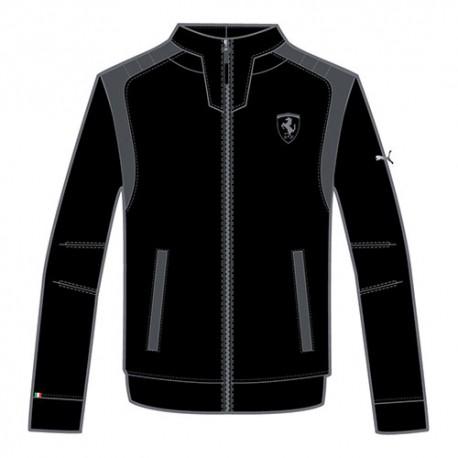 Sweat veste FERRARI PUMA zippé noir