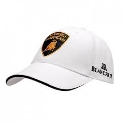 Casquette LAMBORGHINI Blancpain Squadra Corse blanche