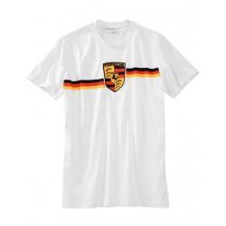Tee-shirt PORSCHE fan blanc