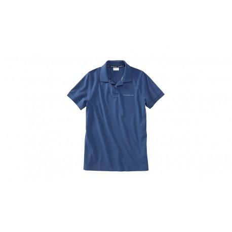 Polo PORSCHE bleu royal