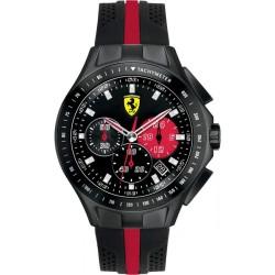 Montre FERRARI Race Day chrono noire et rouge