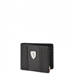 Porte-cartes FERRARI PUMA 6cc noir et carbone