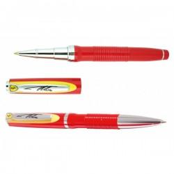 Parure stylos bille et roller FERRARI Alonso rouge et jaune
