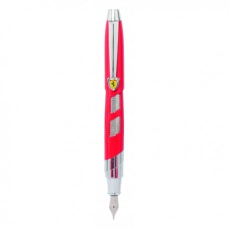 Parure stylos plume et roller FERRARI Baghetti rouge