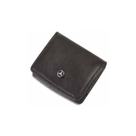 Porte-monnaie MERCEDES cuir noir