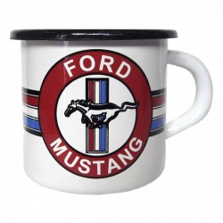 Mug Ford MUSTANG en émail