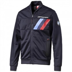 Sweat veste BMW Motorsport zippé bleu marine