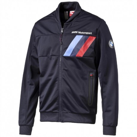 Sweat veste BMW Motorsport zippé bleu marine