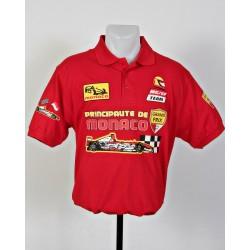 Polo Pilote Monaco Grand Prix rouge taille M