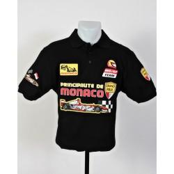 Polo Pilote Monaco Grand Prix noir taille M