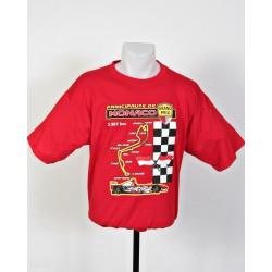 Tee-shirt Pilote Grand Prix de Monaco taille M rouge
