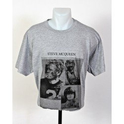 T-Shirt Steve Mc Queen taille L gris
