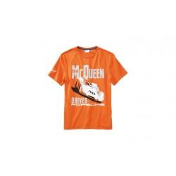 Tee-shirt PORSCHE Steve MCqueen taille M orange